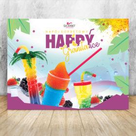 baner reklamowy granita sorbet slush happyice siorbet 200 x 150