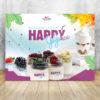 baner do mrożonego jogurtu happyice siorbet