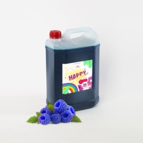syrop do granity malina niebieska happyice siorbet
