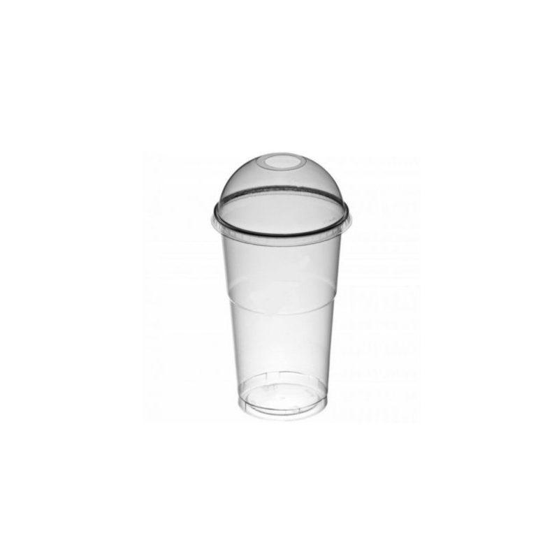 kubki z wypukłą pokrywką do napójów, shake, granity
